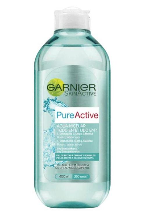 agua micelar pure active